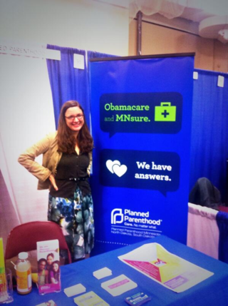 Julia, one of Planned Parenthood's MNsure-certified Navigators